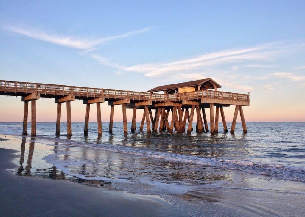Pier Beach Ocean Water