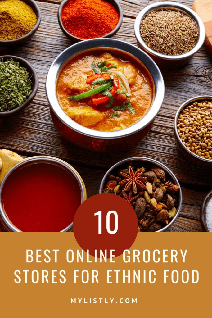 Where can you find incredible Italian pasta, spicy chicken ramen noodles, or high-quality spices without having to leave your house? Just a few short years ago, it would have been impossible, but today you can have the flavors of the world brought right to your doorstep. Here's a list of the 10 best online grocery stores for ethnic food. #ethnicfood #foodie #cooking